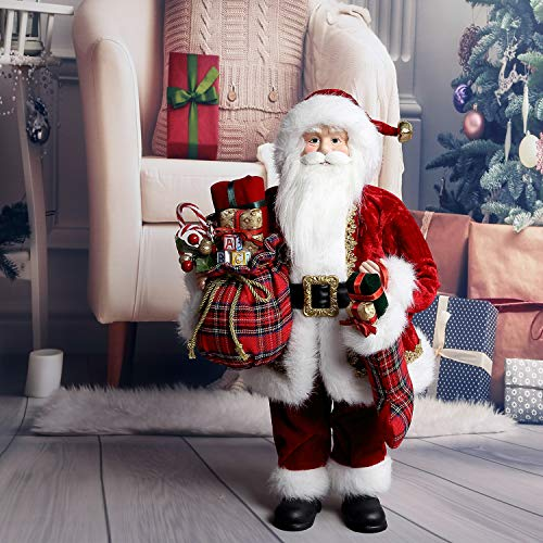 "Uten 18"" Santa Claus Christmas Figurine Figure Decoration Holiday Decoration"