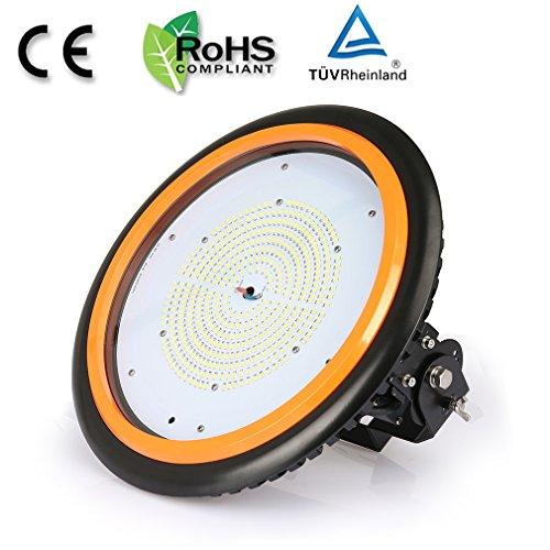 Anten LED High Bay Licht 22000lm 150W Neutralweiß(3750-4250K) LED Hallenleuchte/LED SMD Hallenstrahler Dank Schutzart IP65 sowohl für den Innen- als auch Aussenbereich