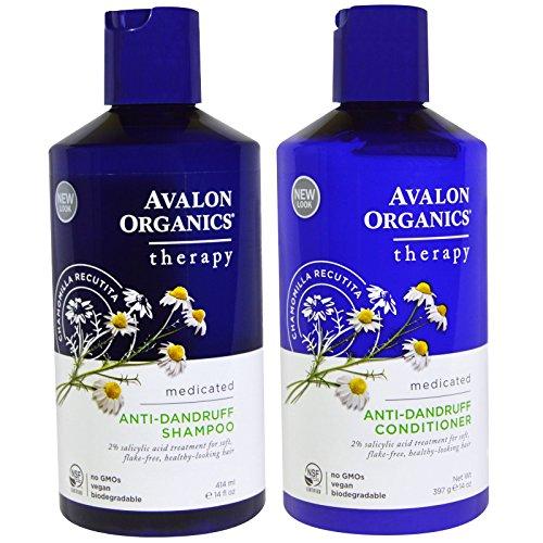 Avalon Organics Anti-Dandruff Shampoo and Anti-Dandruff...