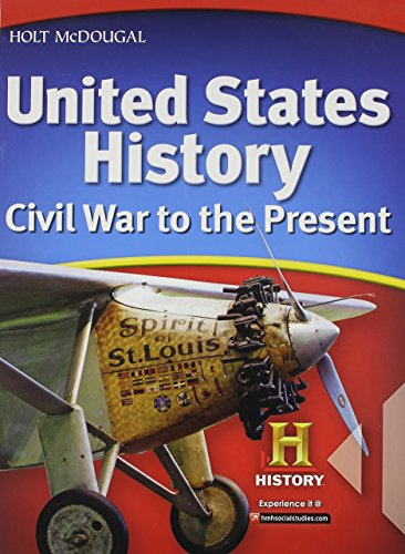 Price comparison product image Holt McDougal United States History: Civil War to the Present © 2010: Student Edition Civil War to the Present 2010