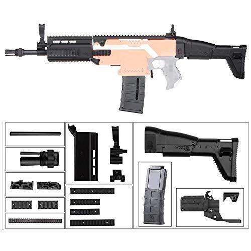 WORKER F10555 FN SCAR Style (schwarzer Adapter) für Nerf N-Strike Stryfe