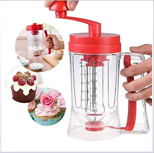 Pancake Machine 800ml, Cupcake Funnel Beslag roomscheider Tool Cake deegafgiftemiddel, geschikt voor de keuken, Baker