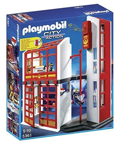 Playmobil 5361 - Stazione Vigili del Fuoco con Allarme