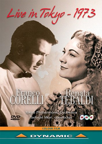 Franco Inventory cleanup selling Dealing full price reduction sale Corelli and Renata Concert Tokyo Tebaldi: 1973