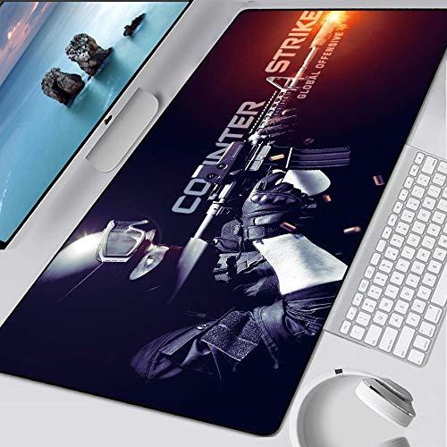 Mauspad Counter-Strike Navi Große Gamingmatte Hyper Beast für XXL Pad Grande AWP für Gamer Mousepad PC Muismat, CSGO-007, 800x300x2mm