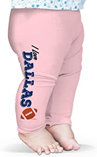 TWISTED ENVY I Love Dallas American Football Baby Funny Leggings Trousers