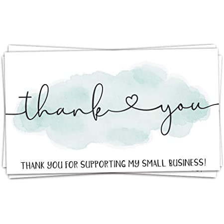 Thank You for Supporting This Small Business Printed Handmade Wood Sign