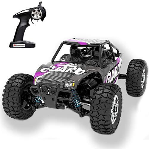 KingBaas RC Autos Offroad Ferngesteuertes,RC Car 1:14 RC Spielzeug Auto 2.4 GHz Aluminiumlegierung aus Truck 4WD All Terrains Drift Monstertruck Truggy für Erwachsene und Jugendliche