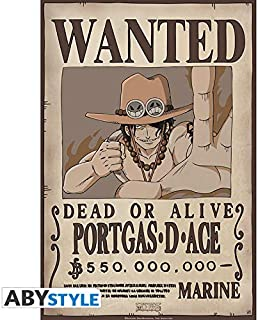 """One Piece /""""Wanted Mr2 Bon Clay /"""" 52x38cm Poster"""