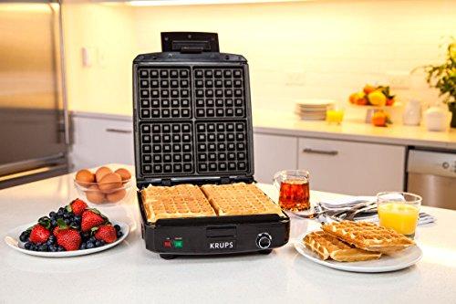 Gaufrier Belge à Température Réglable KRUPS avec Plaques Amovibles - GQ502D - 6
