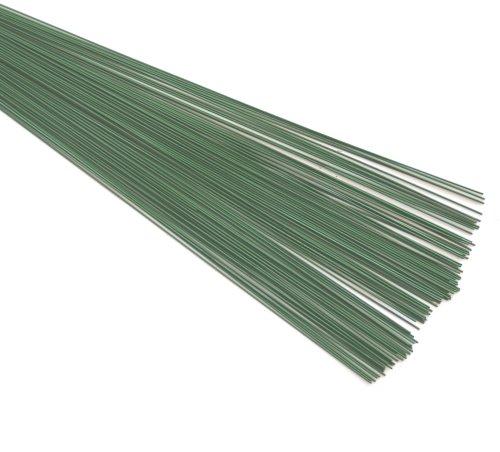 Cable Vert Floral Fleuriste (0.9mm) 20swg x (255mm) 78 GR Environ 65 pièces. IDÉAL pour L'ARTISANAT pour Arrangement Fleurs