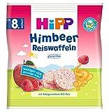 Hipp Knabberprodukte, Himbeer Reiswaffeln, 7er Pack (7 x 30 g) -