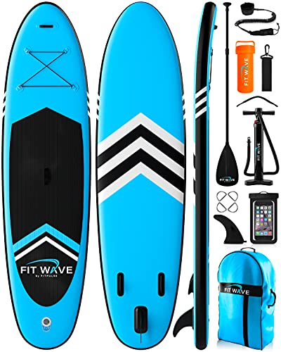 FITPULSE Paddle Board Inflatable Paddle Boards for Adults Inflatable Sup...