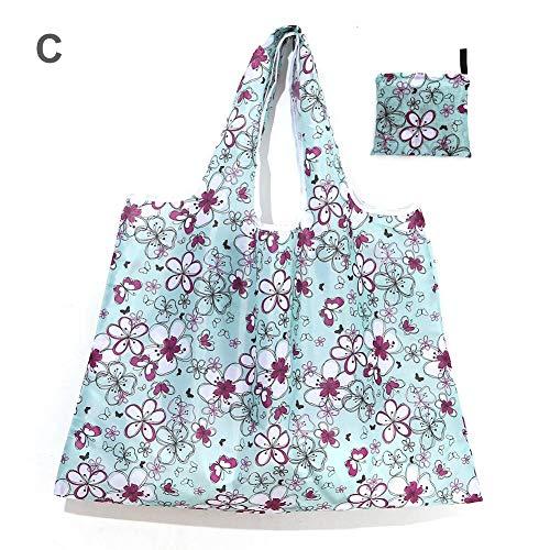 selfdepen Wiederverwendbare Einkaufstaschen Für Lebensmittel Faltbar Mit Beutel, Hochleistungs-Oxford-Stoff Wiederverwendbare Taschen Für Lebensmittel, Einkaufstour