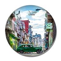 旧市街キューバ冷蔵庫マグネットホワイトボードマグネットオフィスキッチンデコレーション