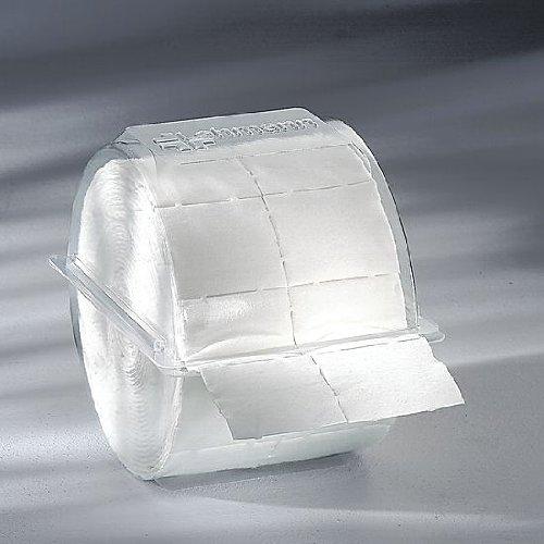 300x Zellstofftupfer Zelletten, Tupfer aus Zellstoff, 5x4 cm in Einwegbox Kosmetex