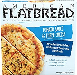 Ever Better Eating American Flatbread Thin and Crispy Pizza, Tomato Sauce and Three Cheese, 6.6 lb (
