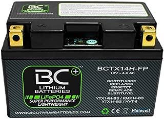 BC Lithium Batteries BCTX14H-FP Batería Moto de Litio LiFePO4