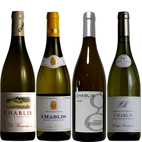 vinexio-ヴィネクシオ- 贅沢飲み比べ シャブリ4本 ソムリエ厳選ワインセット 白ワイン 750ml 4本