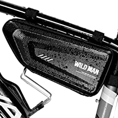 GagaRia 自転車用 サドル バッグ 防水 大容量 トップチューブ ロードバイク パンク修理キット入れ