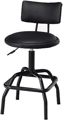 Admirable Amazon Com Kobalt Adjustable Hydraulic Stool Kitchen Dining Machost Co Dining Chair Design Ideas Machostcouk