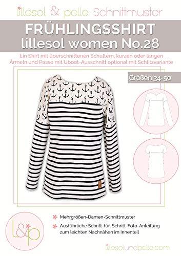 Lillesol & Pelle Schnittmuster women No28 Frühlingsshirt Papierschnittmuster