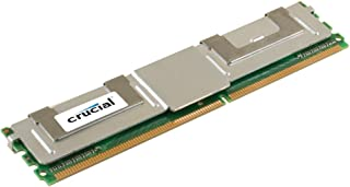 Crucial 8GB Single DDR2 667MHz (PC2-5300) CL5 Fully Buffered ECC FBDIMM 240-Pin Server Memory CT102472AF667