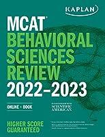 MCAT Behavioral Sciences Review 2022-2023: Online + Book (Kaplan Test Prep)