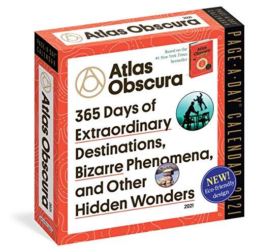 Atlas Obscura Page-A-Day Calendar 2021