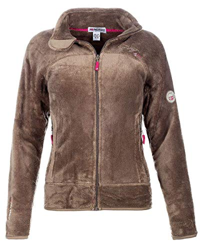 Geographical Norway Damen Fleecejacke Taupe L