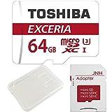 東芝(TOSHIBA) 東芝 Toshiba 超高速U3 4K対応 マイクロSDXC 64GB 専用SDアダプ付 海外向パッケージ品 [並行輸入品]
