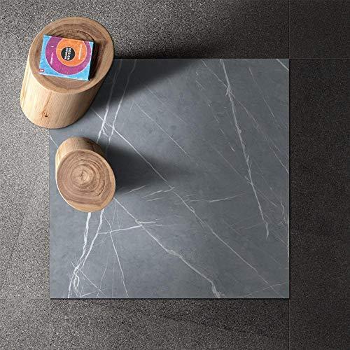 Leileixiao Agotamiento de Vinilo Plano PVC 3D Piso 3D Azulejos Adhesivos Pegatinas Impermeable para baño y Cocina (Color : A, Size : 30x30cmx4pcs)