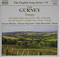 Gurney: English Song Series, Vol. 19 by Ivor Gurney (2009-08-25)