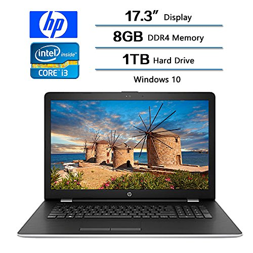 HP 17-bs062st Plata, Negro Portátil 43.9 cm (17.3') 1600 x 900 Pixeles 2.50 GHz Intel® Core™ i5 de la séptima generación i5-7200U - Ordenador portátil (Intel® Core™ i5 de la séptima generación, 2.50 GHz, 43.9 cm (17.3'), 1600 x 900 Pixeles, 8 GB, 1000 GB)