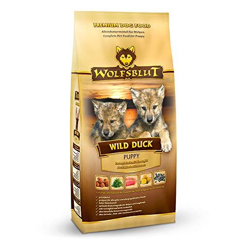 Wolfsblut | Wild Duck Puppy | 15 kg | Ente | Trockenfutter | Hundefutter | Getreidefrei