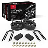 Leveling Lift Kit for Silverado/Sierra, 3 inch Front and 2 inch Rear Forged Strut Spacers Compatible for 2007 -2019 Chevy Silverado 1500, 2007-2019 GMC Sierra 1500
