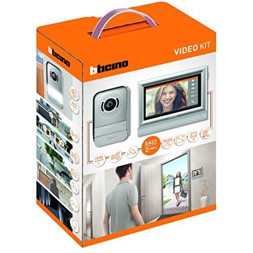 BTicino 317113 Kit Videocitofono 2 Fili Touchscreen 7