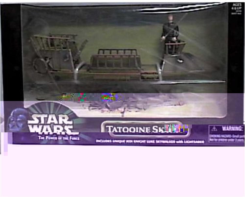 Hasbro Star Wars Power of the Force Tatooine Skiff with Jedi Knight Luke Skywalker Action Figure