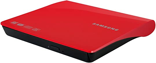 Samsung SE-SE-S08AB/TSRS External DVD-Writer (Red)