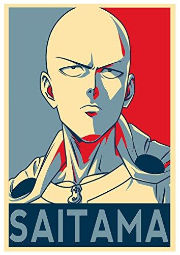 Instabuy Poster One Punch Man Propaganda Saitama - A3 (42x30 cm)