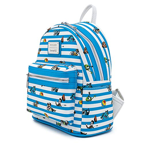 Funko Loungefly Pixar Collection: Pixar Characters Faux Leather Mini Backpack, Amazon Exclusive (50773)