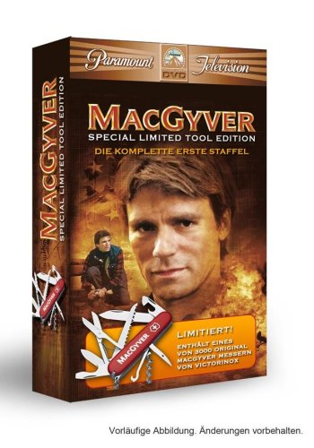 MacGyver Staffel 1 (mit original Messer, limitiert auf 3000 Stück, exklusiv bei Amazon.de) [Limited Collector's Edition]