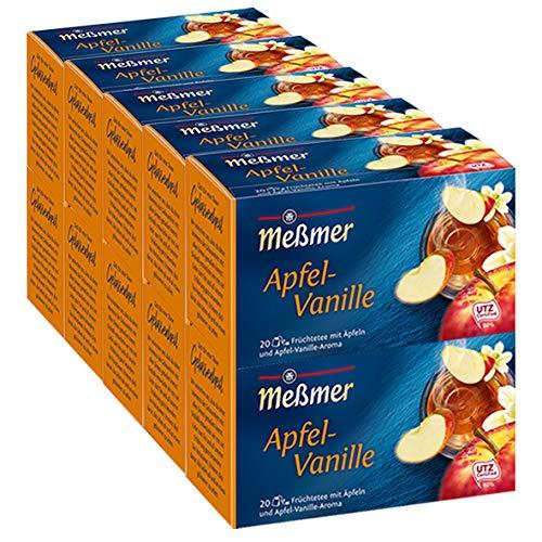 Meßmer Apfel-Vanille 20 Teebeutel - 10 Packungen