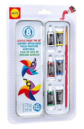 ALEX Toys Artist Studio Acrylic Paint Tin Set