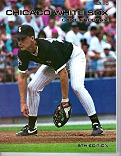 Chicago White Sox Game Program; 5th Edition, 1991