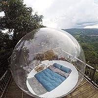 膨脹可能なバブルキャンプテントエコの家の泡のテントの家 - 送風機と吸い込まれた360°パノラマのドームは、祭りの祭りの祭り、直径3 M