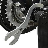 PedalPro Clé à Boîtier De Pédalier De Bicyclette 15mm/16mm
