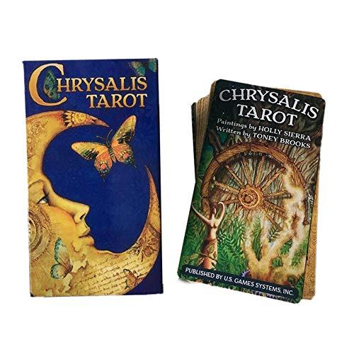 Chrysalis Tarot, Tarot-Karten, Tarot-Kartenset, Tarot für Anfänger: 78 Karten