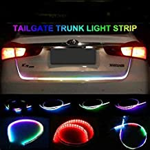 SOUND FIRE WITH DEVICE Flow LED Strip Tail lamp with Indicator (4 ft)