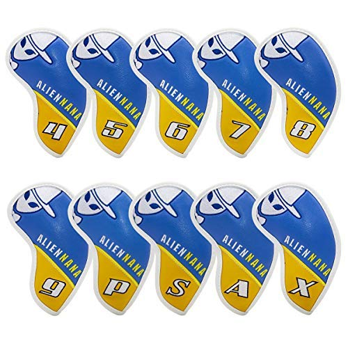 Golf iron head covers set 10pcs/set Golf club iron headcover Golf iron club cover American USA Golf Headcovers for Titleist 718, EPIC, Ping G, Taylormade, Cobra,PXG 0311